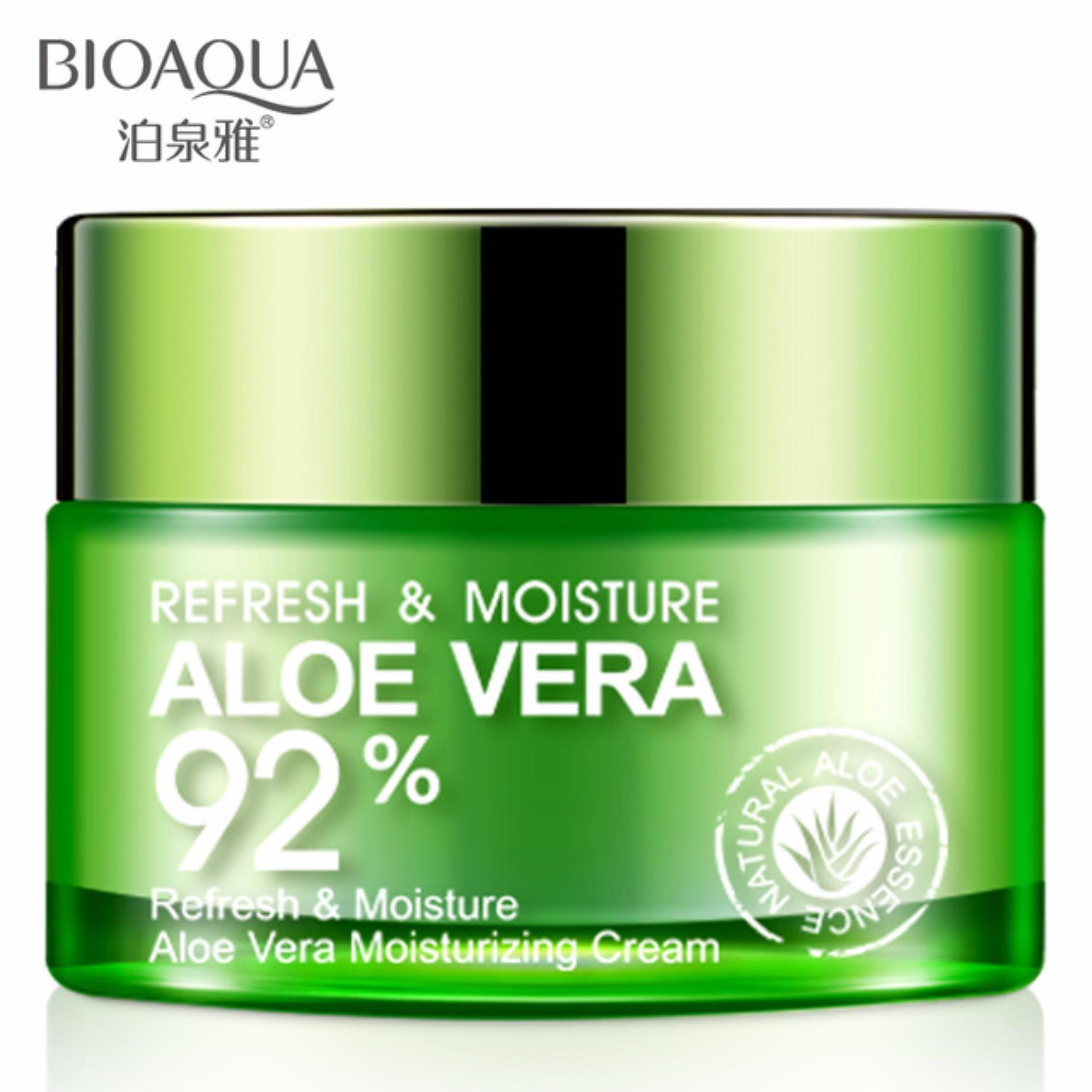 Produk Korea Paling dicari - BioAqua Original Aloe Vera 92% Serum Wajah Essence Soothing Gel