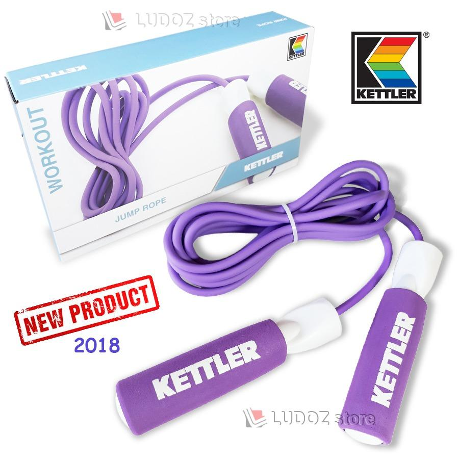 Review Toko Kettler Common Jump Rope Skipping Lapis Foam 0903