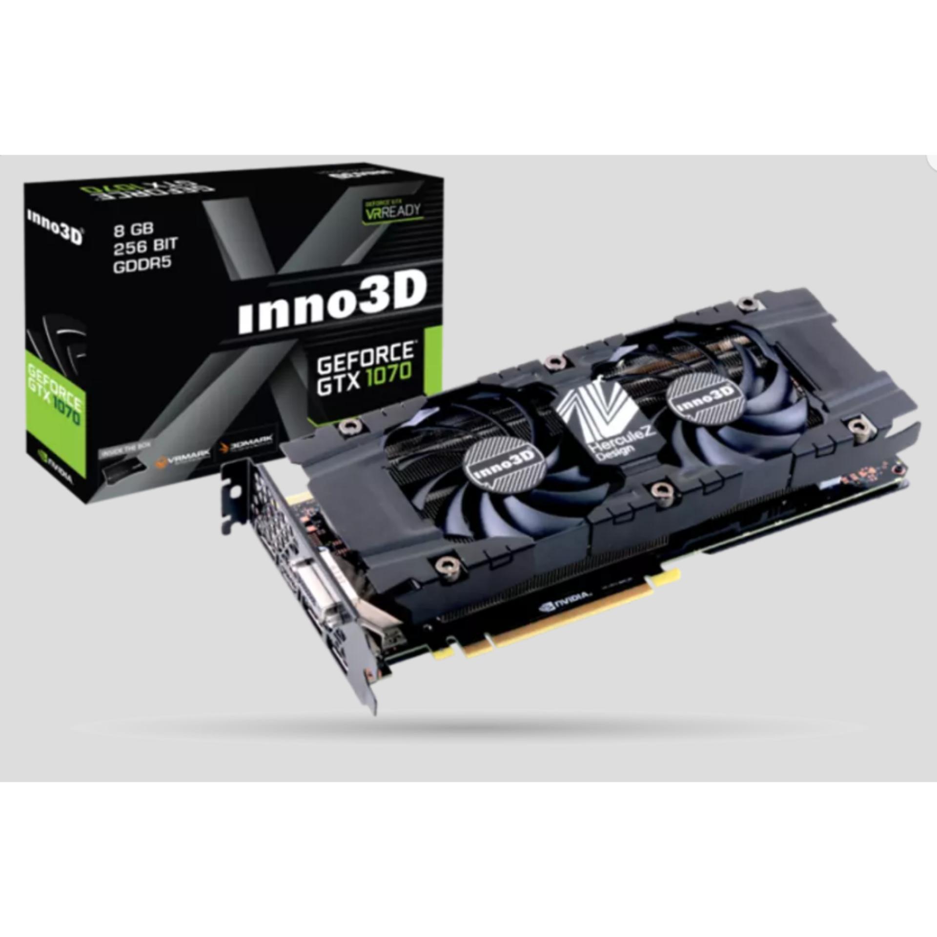 PROMO !!! INNO3D GeForce GTX 1070 X2 V3