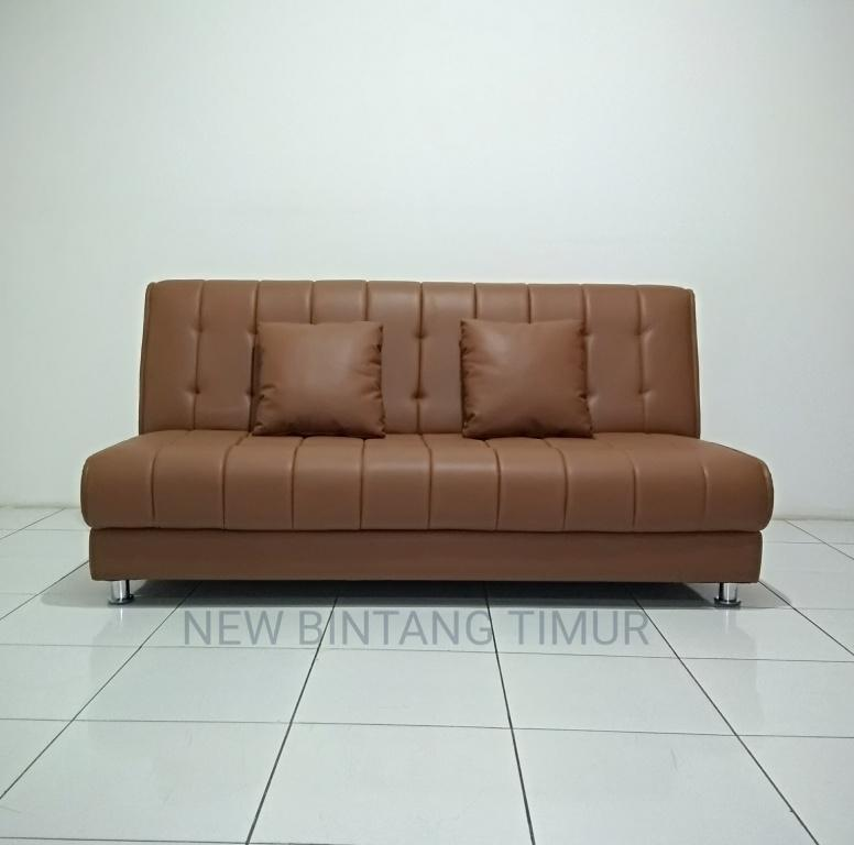Sofa Bed Valencia - Coklat