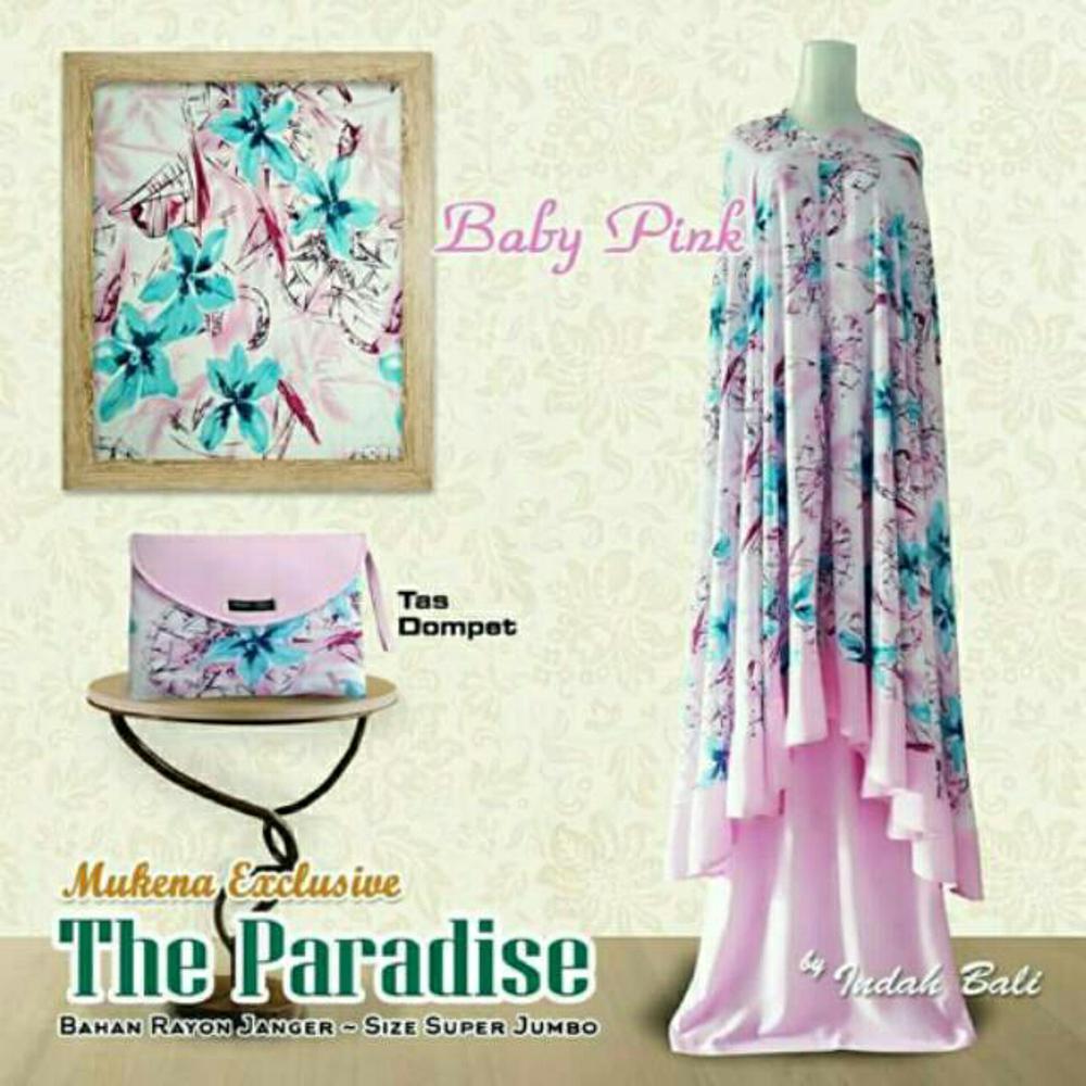 Grosir Mukena Bali Dewasa Premium Paradise Pink