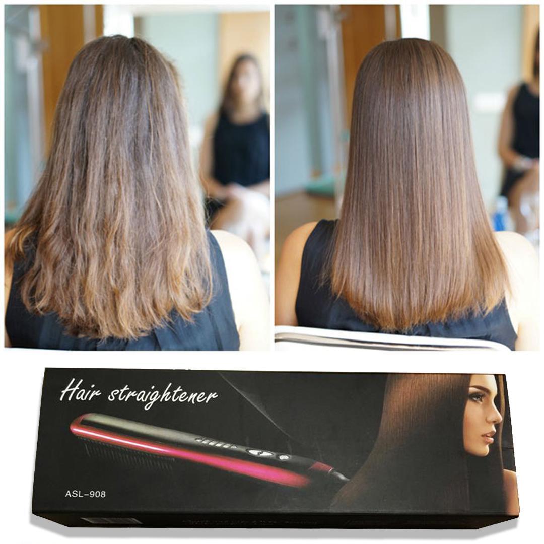 Fitur Harazaki Store Asl 908 Catok Sisir Pelurus Rambut Fast Hair Ion Straightener Catokan Generasi Terbaru