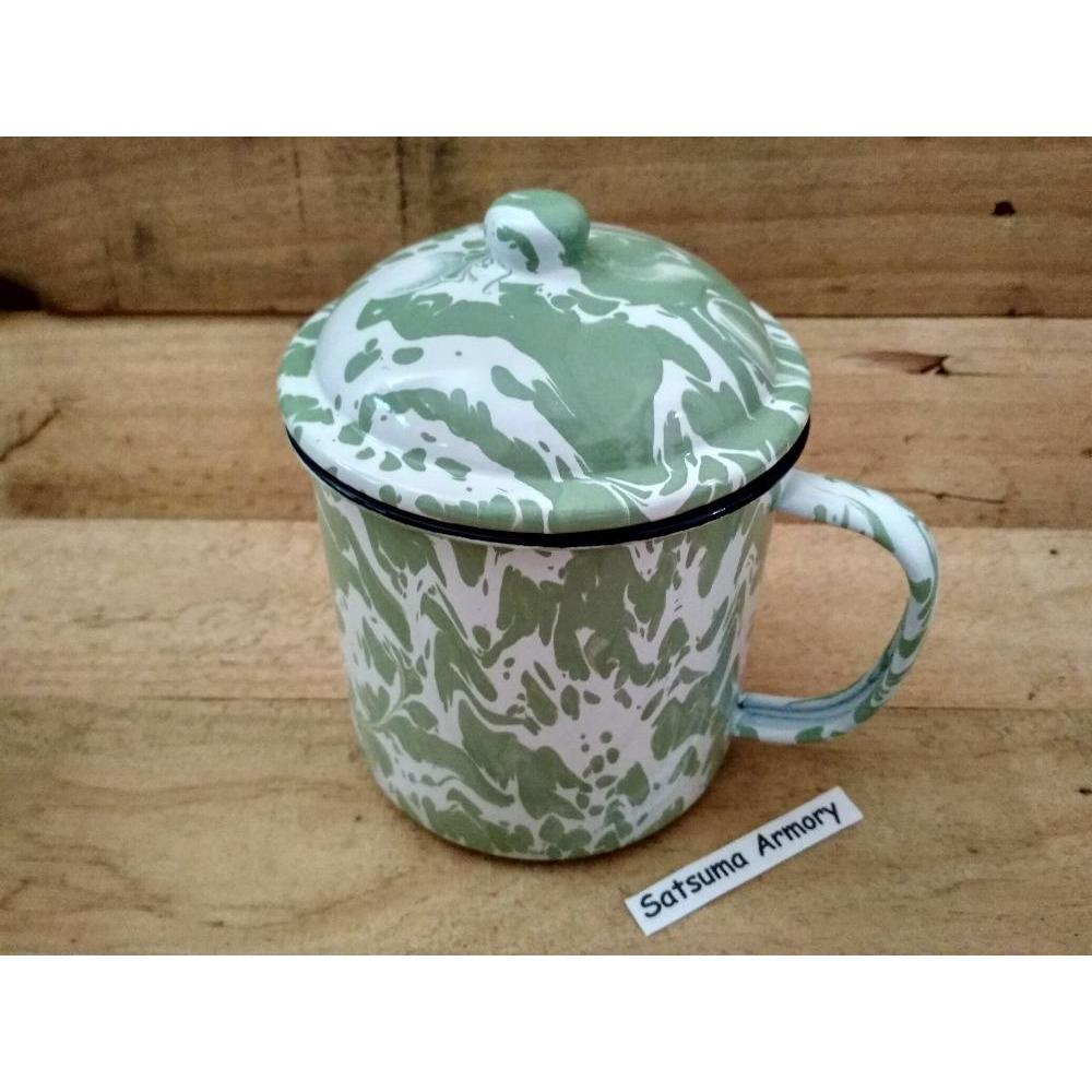 Unik Cangkir-Mug-Seng-Enamel-Jadul-Blirik 10 Cm