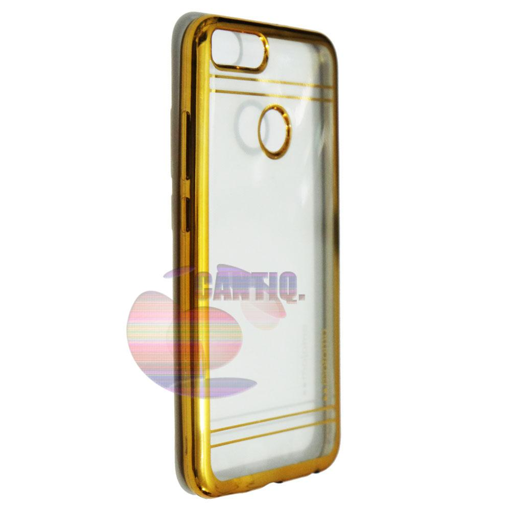 ... Motomo Chrome Xiaomi MI A1 Shining Chrome / Silikon Xiaomi MI A1 Shining List Chrome ...