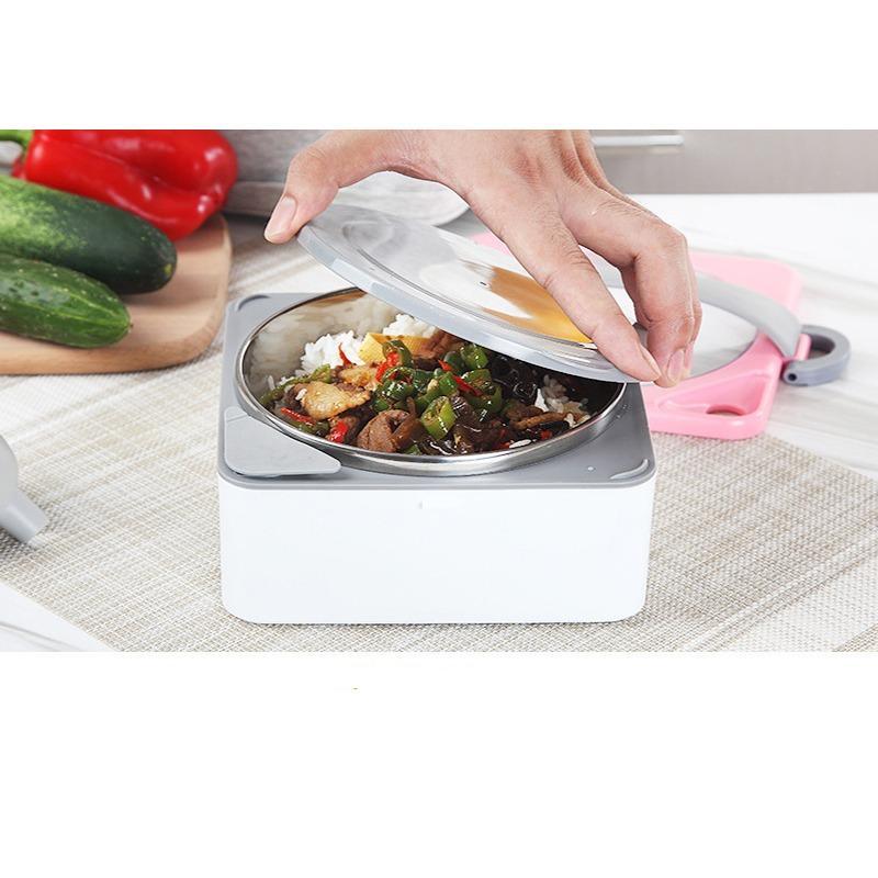 Premium1st Rantang Pemanas Makanan 2 Susun Stainless Steel Kotak Makan Lunch Box 1500ml .