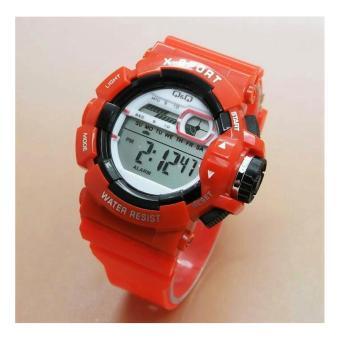 Pencari Harga Q&Q jam tangan anak pria/wanita Digital rubber strap terbaik murah - Hanya Rp39.854