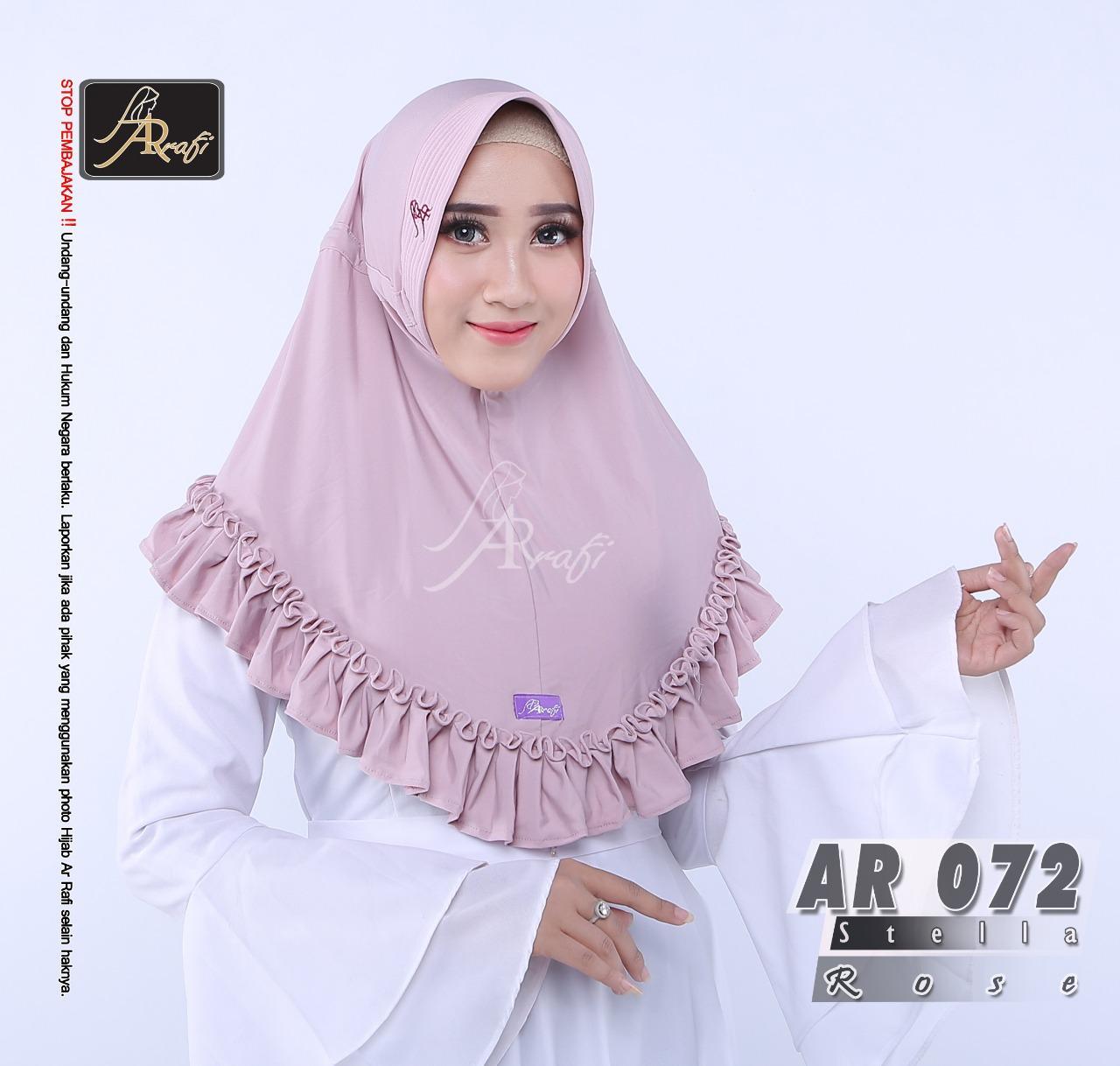 Fitur Hijab Arrafi Ar 221 Dan Harga Terbaru Info Tempat Instan Talita Kombinasi Violet Ar45a Best Seller From Brand Jilbab Kerudung Gotik Warna Rose 72 Khimar