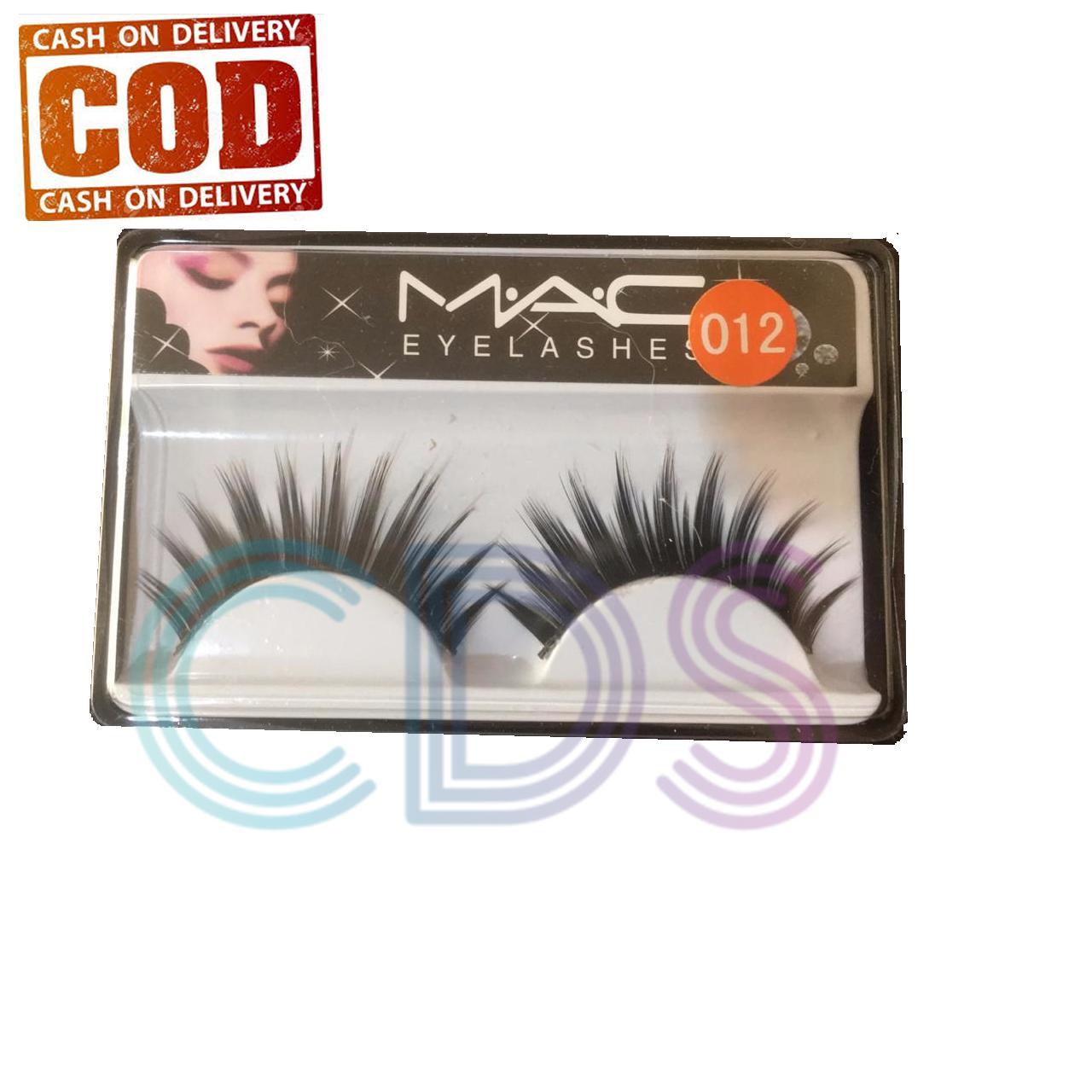 Bulu Mata Palsu Eyelash Natural Mac Eyelashes 012