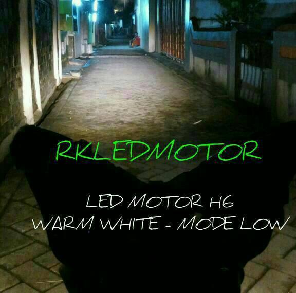 LAMPU LED MOTOR SUPRA X 125 (H6 LED   CVDC)