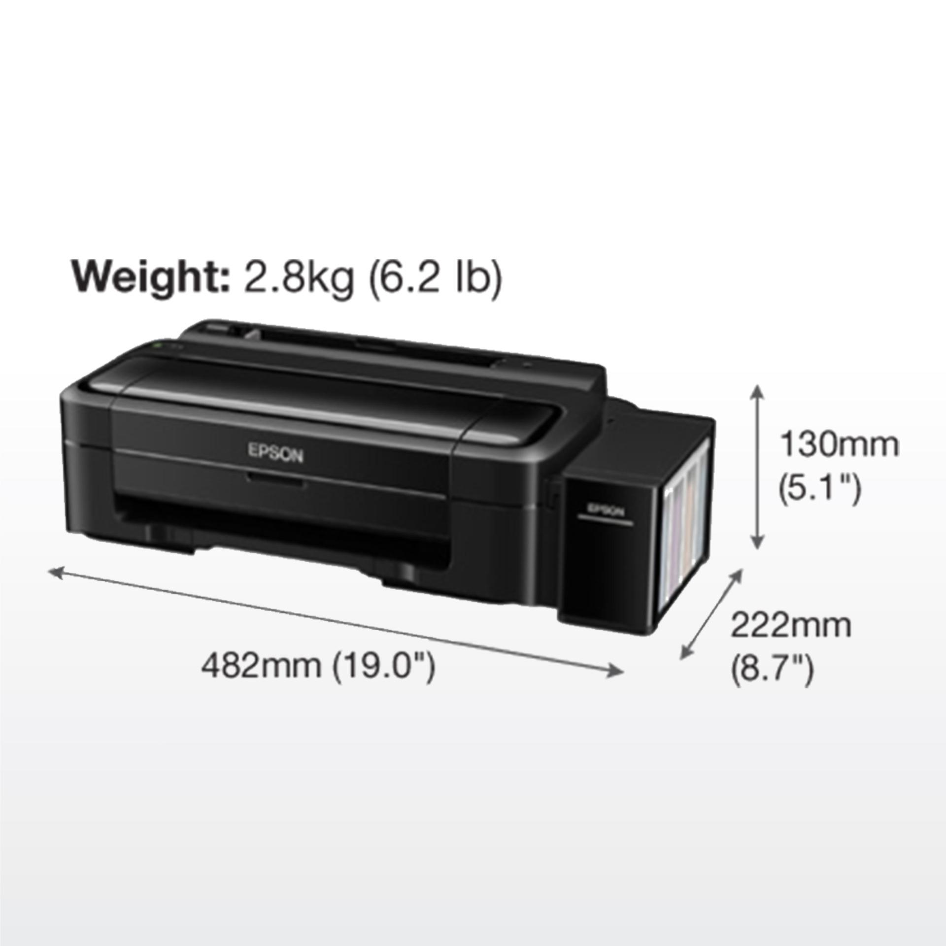 Detail Gambar Printer Epson L310 Ink Tank Original Terbaru