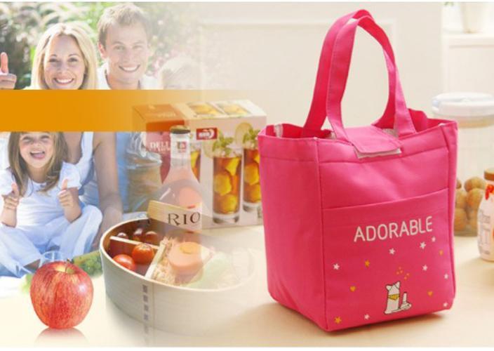 ... TM012 - Word Lunch bag /Cooler bag /Tas Bekal Motif Tulisan Velcro - 3 ...