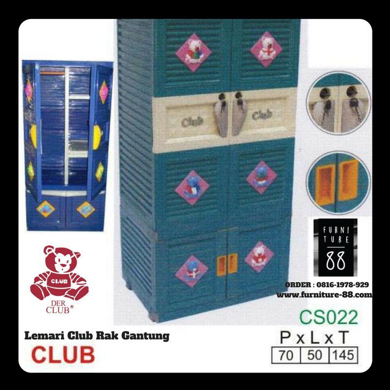 Lemari Plastik Club Gantung