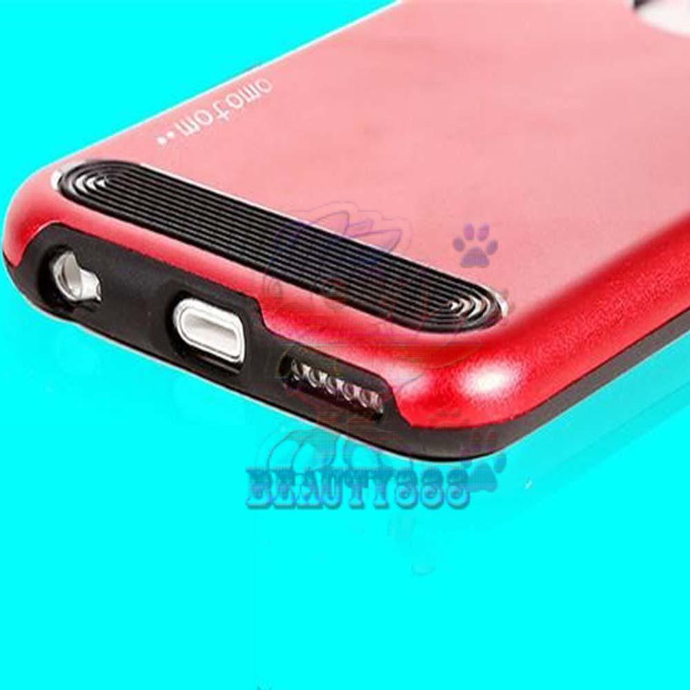 ... Motomo Hardshell Apple iPhone 6 Metal + Rubber Hard Back Case / Metal allumunium Case Apple
