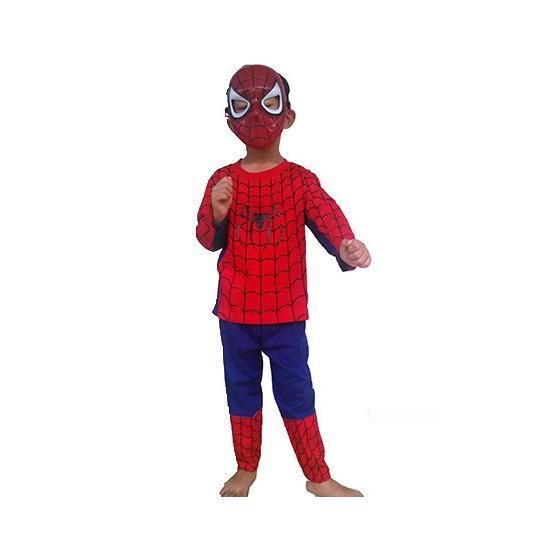 Harga Baju Anak Kostum Spiderman Lengkap