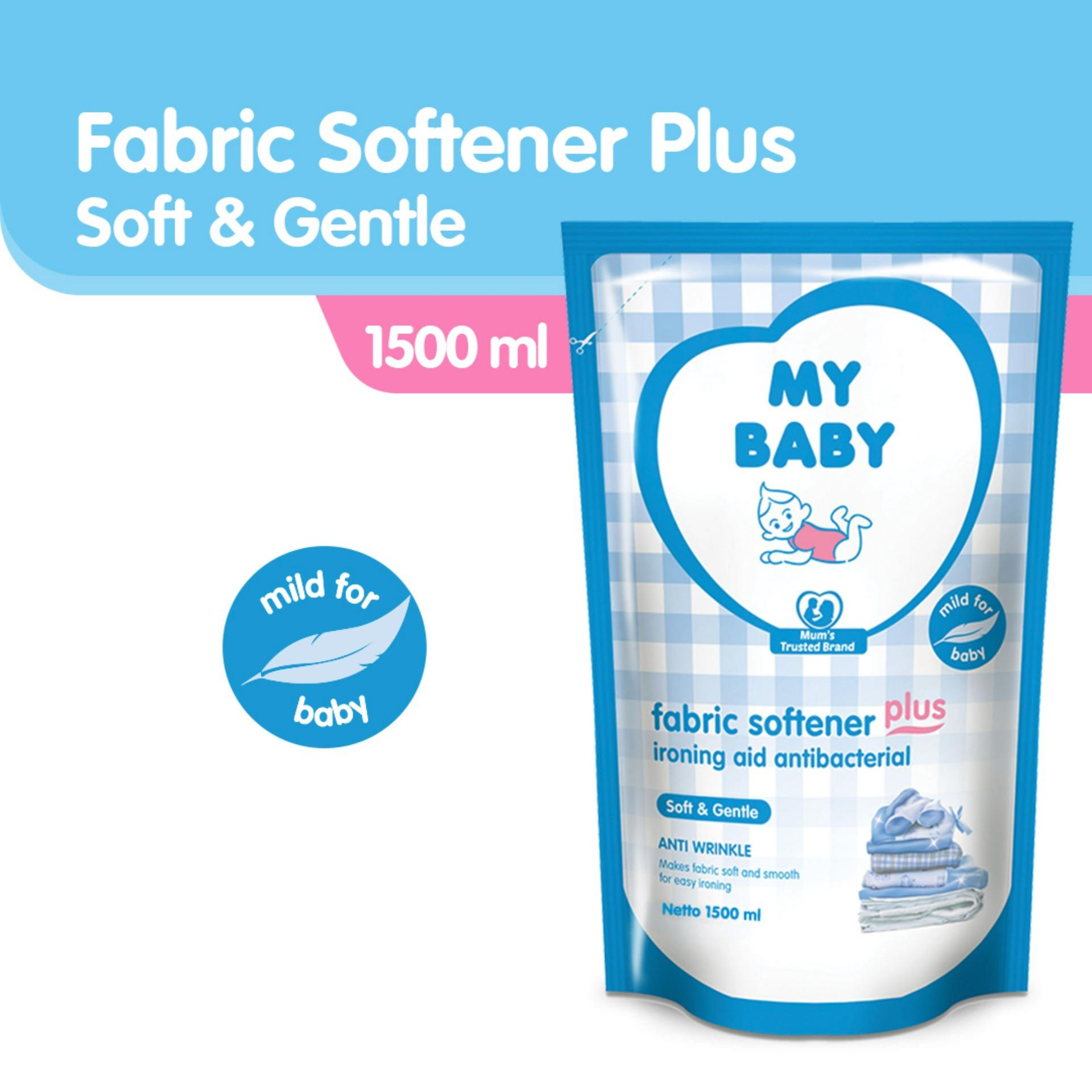 My Baby Fabric Softener Plus Ironing Aid Soft and Gentle [1500 mL]