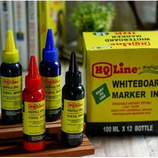 Tinta Spidol WhiteBoard 100 ml Warna-Warni