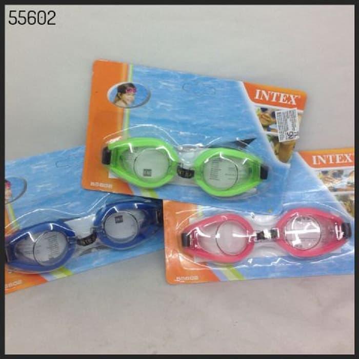 Kacamata Renang / Swimming Goggles Intex (55602) - ngOdLY Terbaru