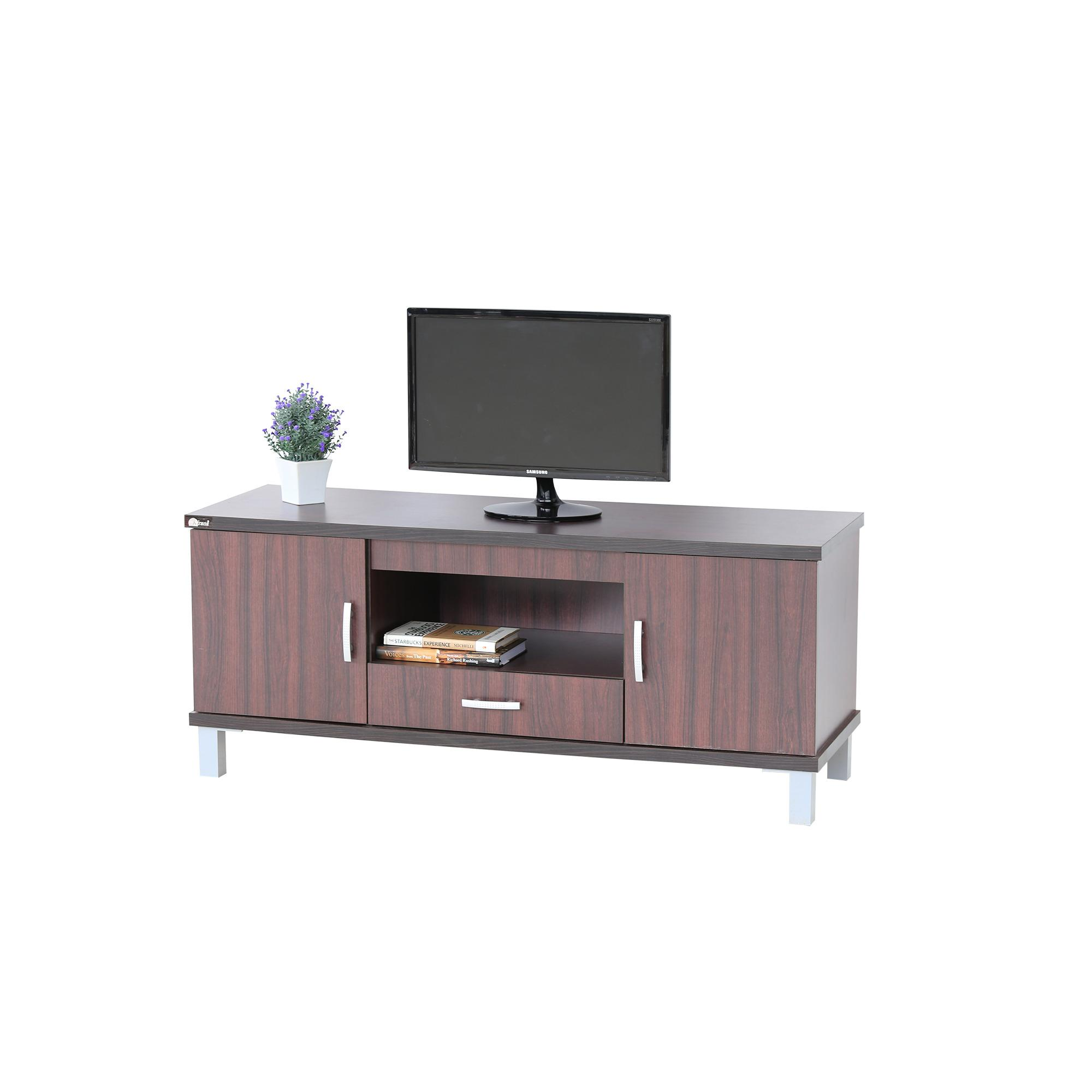 Kirana Furniture - Meja TV / Rak TV / BF 827 DM - Dark Mahony