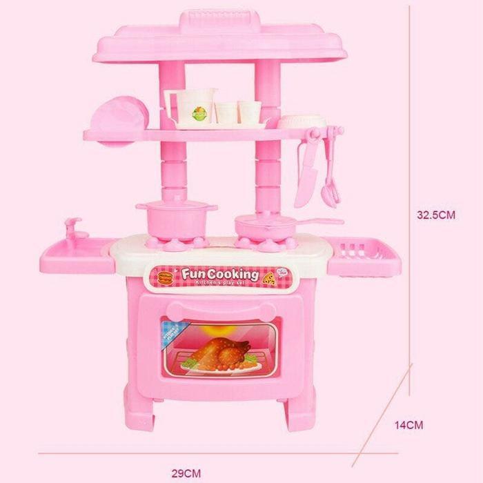 Fun Cooking Kitchen Set Mainan Masak Masakan