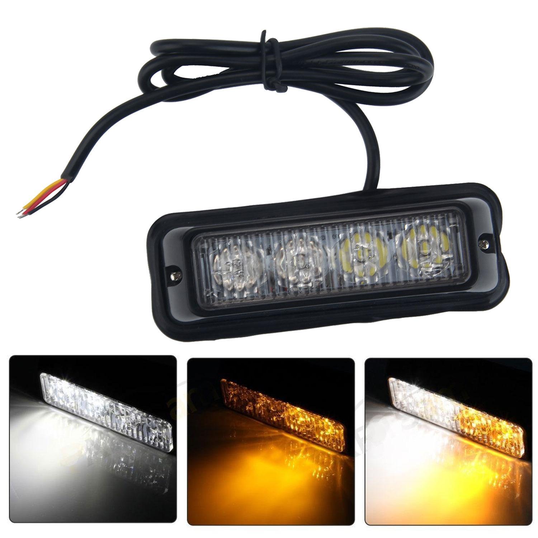 Jual Leegoal Kendaraan Darurat Lampu Bar 12 V 24 V Lampu Peringatan Berkedip Led Strobo Untuk Review Mobil Truk Pikap Rv 1 Buah Branded