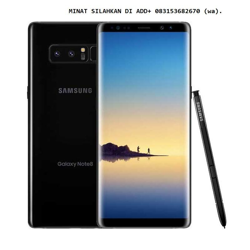 Samsung Galaxy Note 8 Smartphone - Black [64GB/6GB]