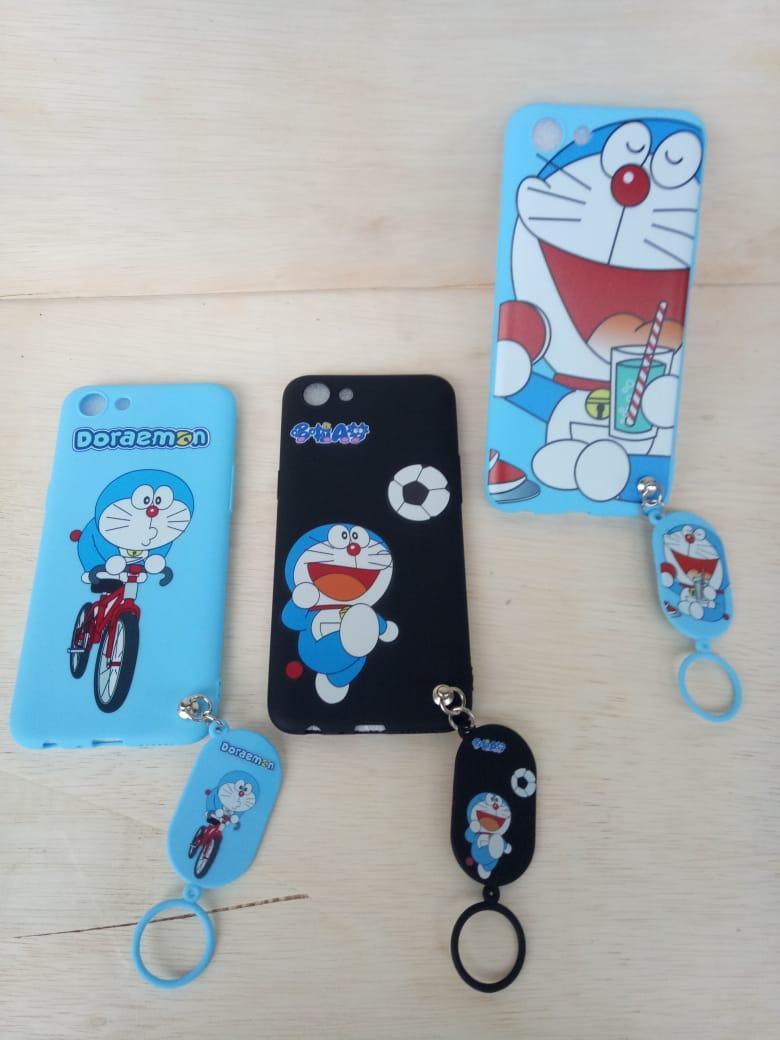 Casing Softcase Karakter Kartun Doraemon / Hello kitty For Oppo A83