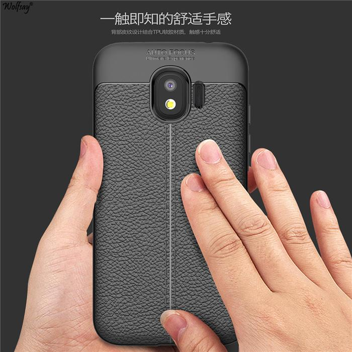 LEATHER AUTO FOCUS Case Samsung Galaxy J2 Core Softcase Casing Back Cover TPU .
