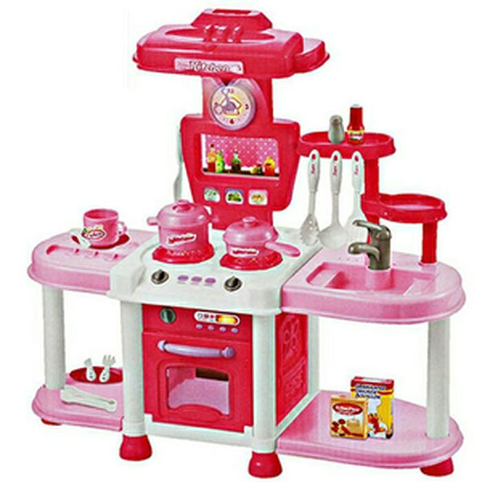 Mainan Anak - Fashion Kitchen Besar Play Set Dapur Mini Masak Masakan