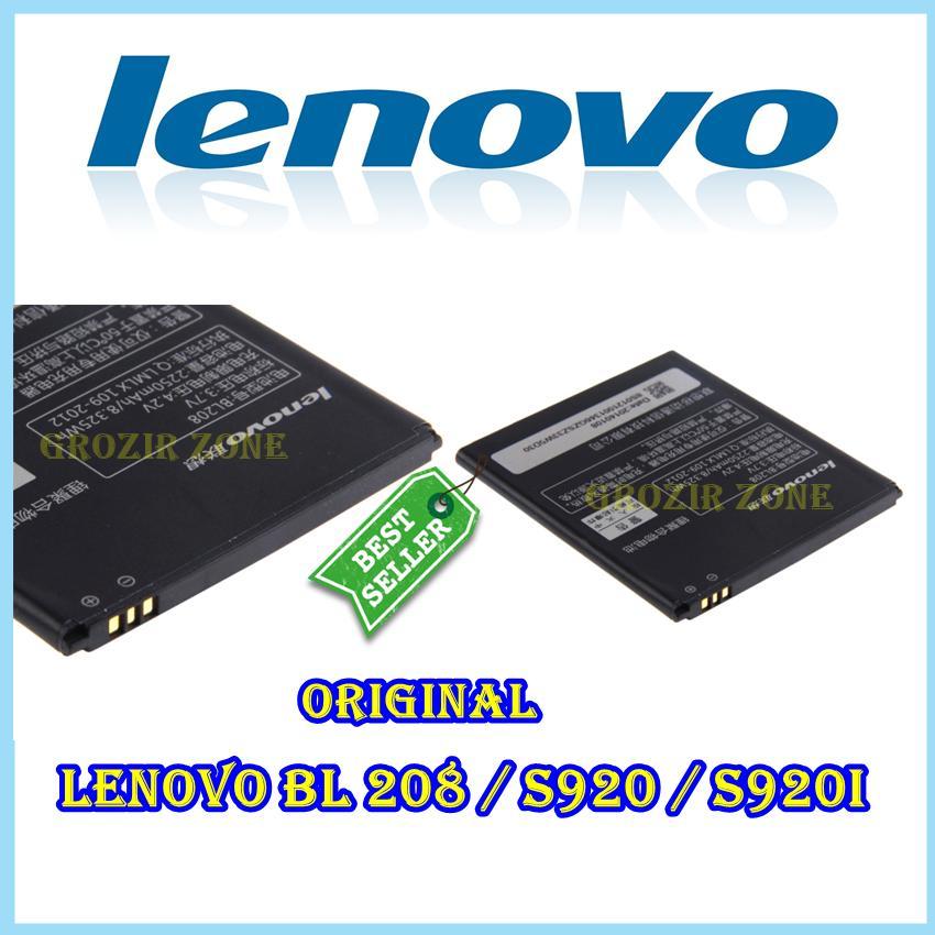Lenovo Baterai / Battery BL208 For Lenovo S920 / S920i Original - Kapasitas 2250mAh ( Grozir