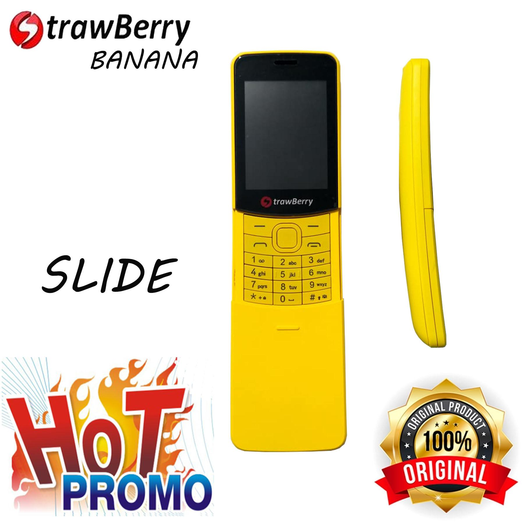 Kelebihan Strawberry St338 Blade Mode Getar Dual Sim Radio Fm Polytron C201 Banana Slide