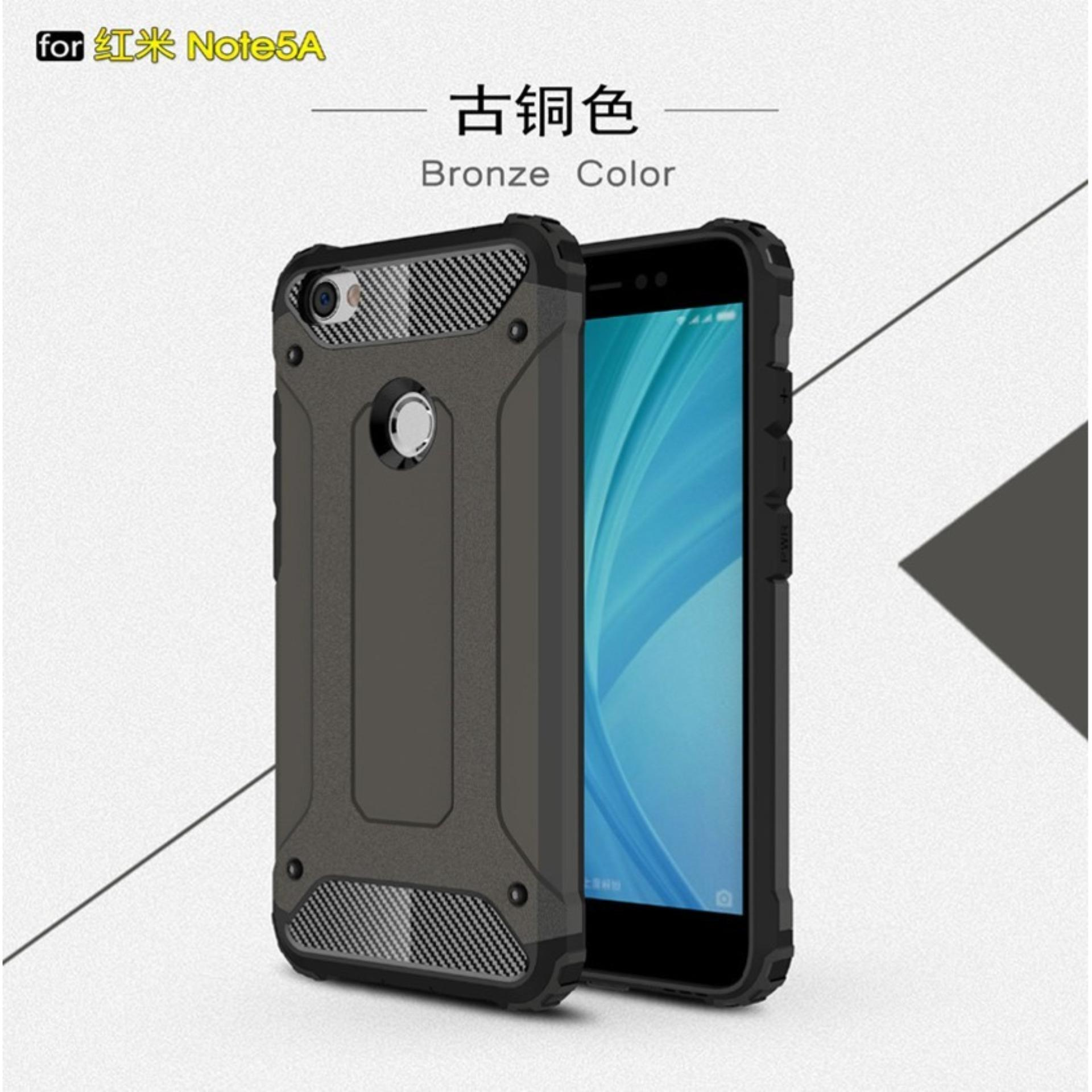 Case Hard Cover Robot Shockproof Armor For Xiaomi Redmi Note 5A- Black