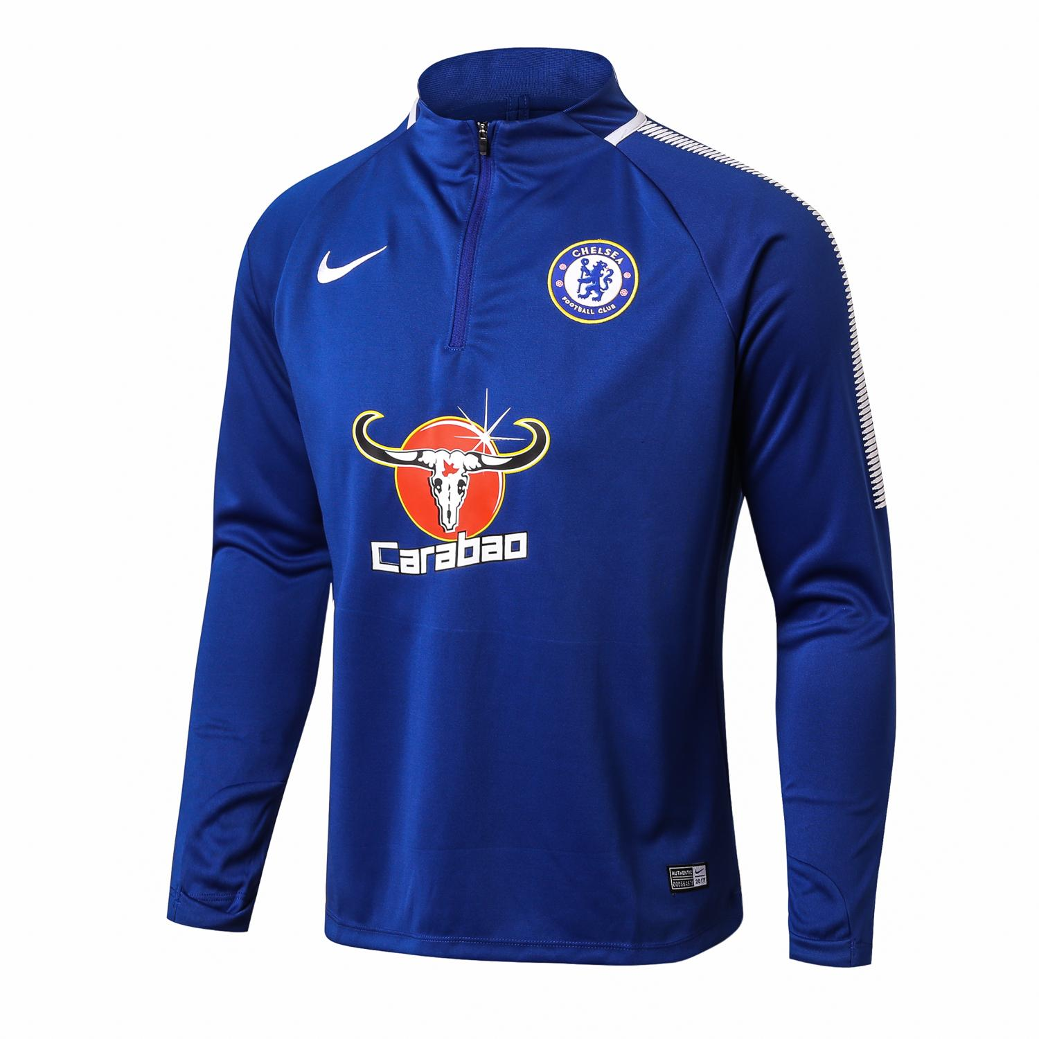 Diskon Top Quality Chelseafc Long Sleeve Home Jersey T Shirt 2017 2018 Akhir Tahun