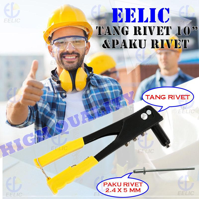 EELIC TAR-W10I MIX TANG RIVET TANG TANGAN MANUAL HAND REVETER 10 .