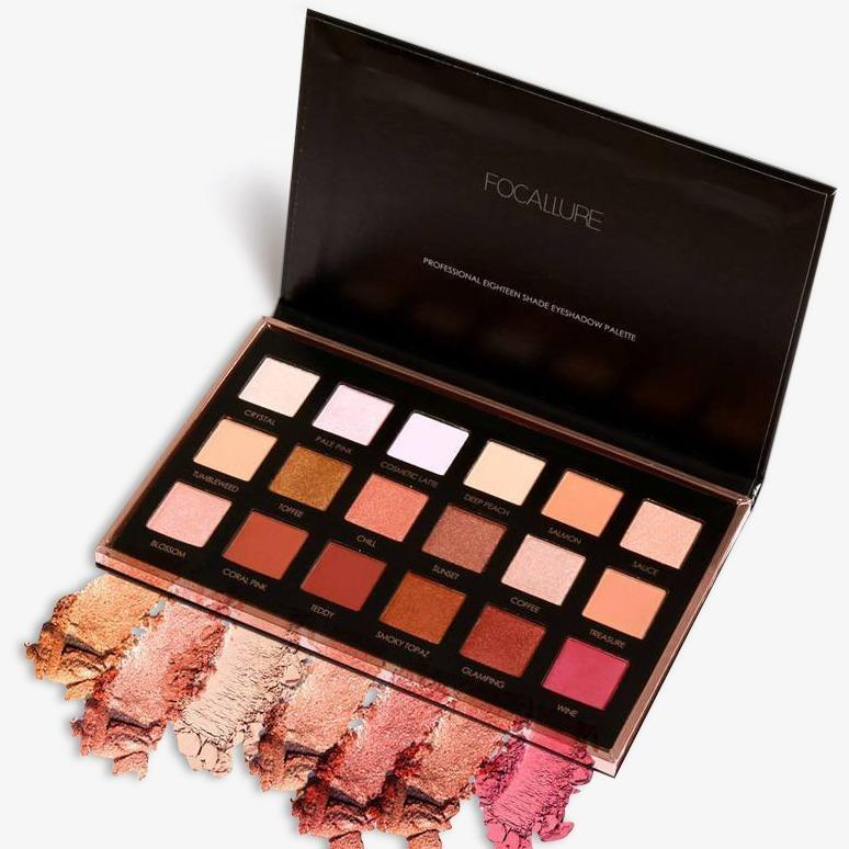 Focallure Favors 18 Shades Full Function Eyeshadow Palette