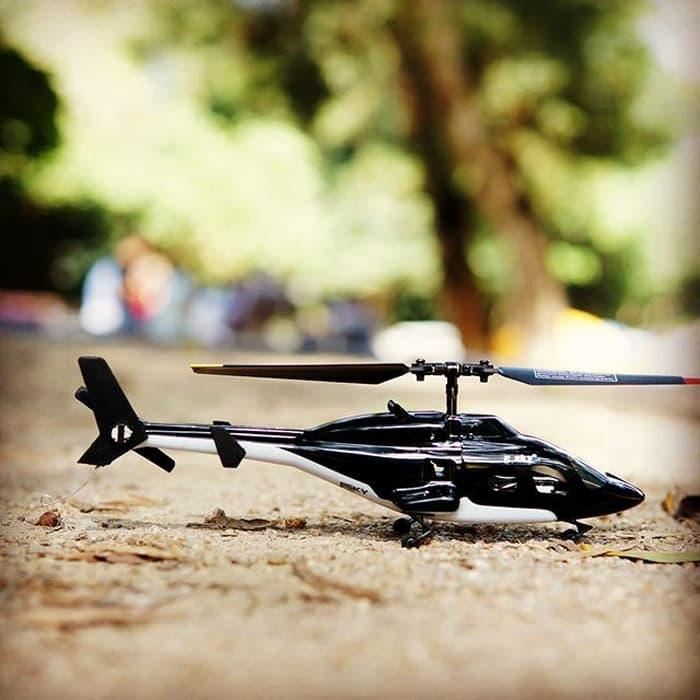 Promo Terbatas!! Airwolf Rc Helicopter 4Ch Mini 6 Axis Gyro Flybarless - ready stock