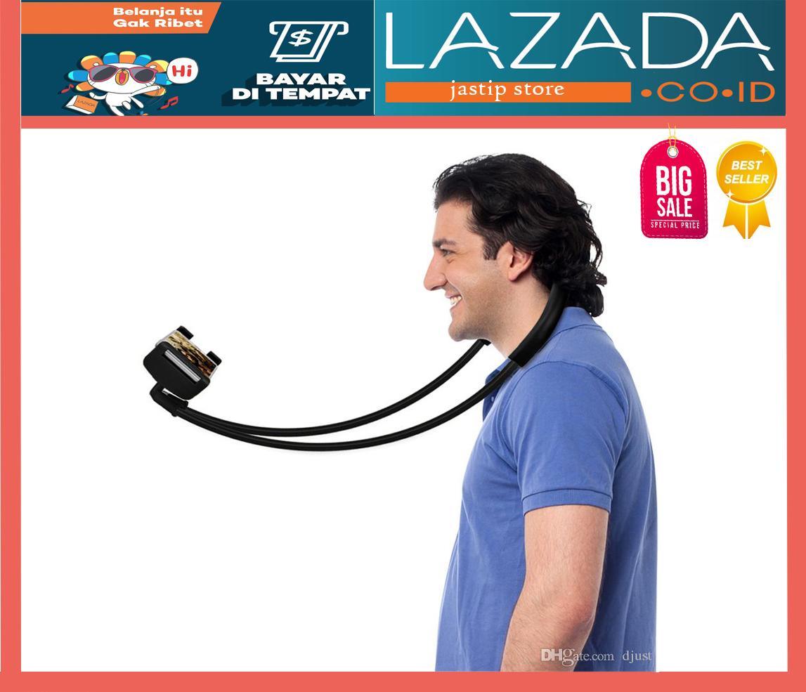 Lazy Neck - Stand Leher Kekinian Universal Flexible Lazy Hanging on Neck Phone Holder 360?