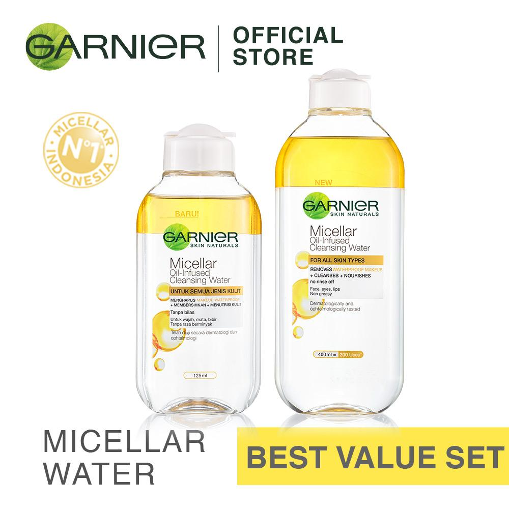 Jual Beli 1 Gratis 1 Garnier Micellar Water Biphase For All Skin Type Garnier Branded
