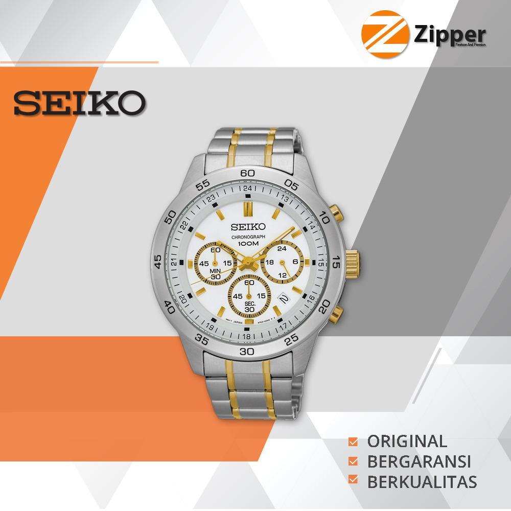 Harga Promo Seiko Chronograph Jam Tangan Pria Tali Stainless Steel Sks523P1 Yang Murah Dan Bagus
