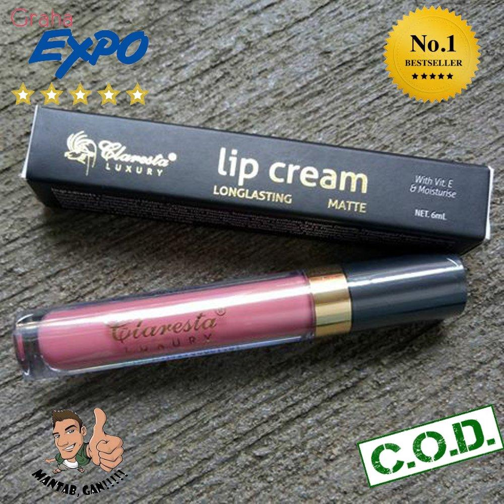 Kelebihan Claresta Luxury Lip Cream Longlasting Matte Lips Terkini Lt Pro 07