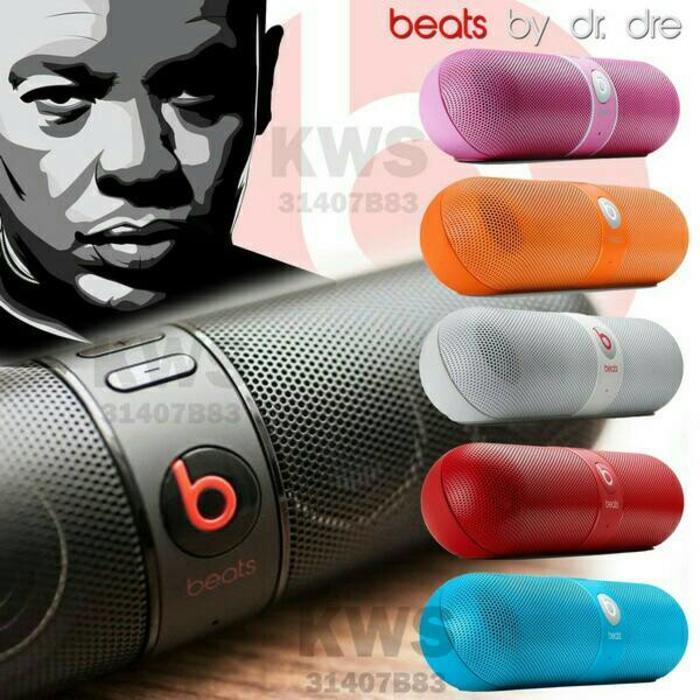 Speaker Aktif Speaker Bluetooth Beats Pill / Speaker Kapsul Warna Random