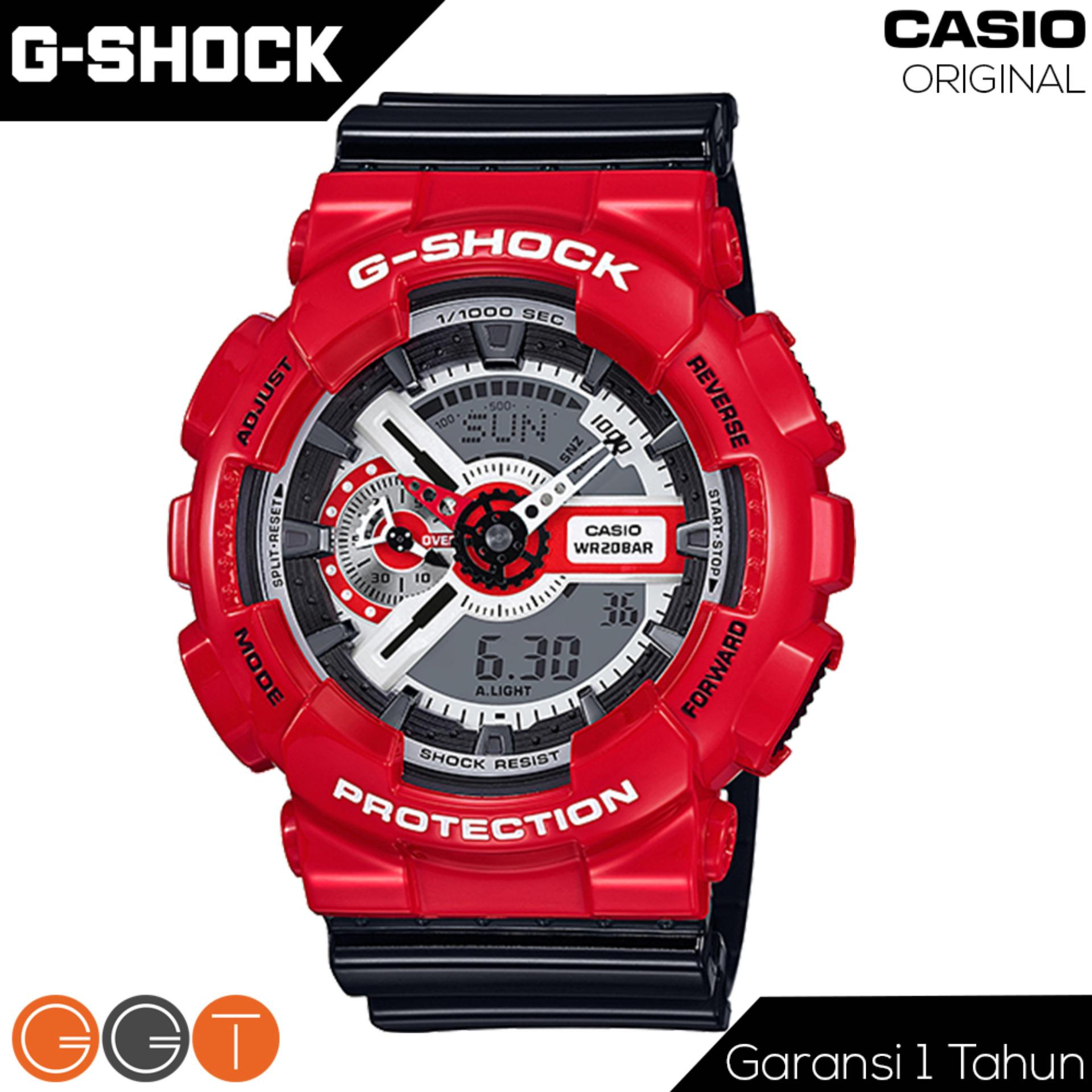 Jual Casio G Shock Dual Time Ducati Tali Rubber Jam Tangan Pria Ga 110Rd 4Adr Red Lengkap