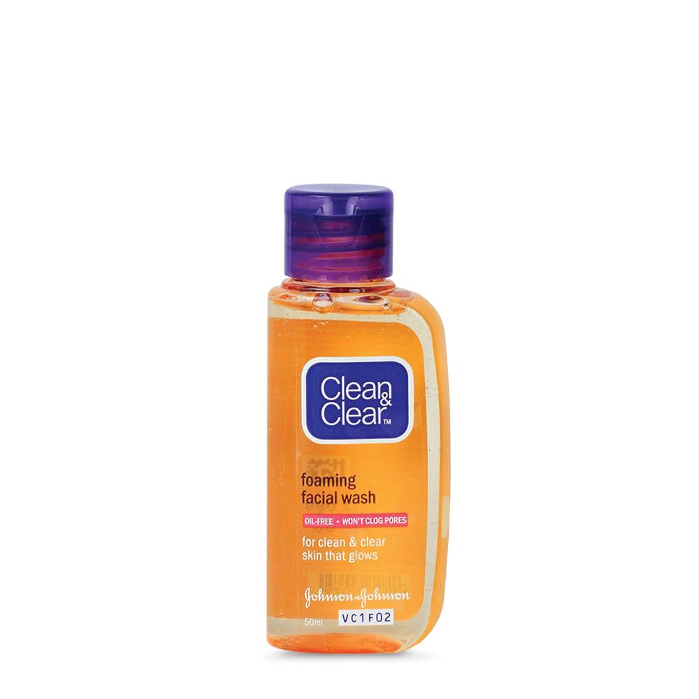 ... Clean & Clear Foaming Face Wash 100ml Free 50ml 3