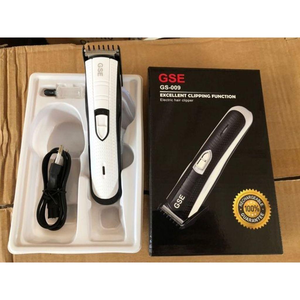 Kado Unik-- Alat Cukur Rambut Recharger Baterai GS009 / Alat Cukur Rambut / Mesin Cukur Portable / Peralatan Cukur Cliper / Alat Cukur Rambut Berkualitas / Mesin Cukur Murah