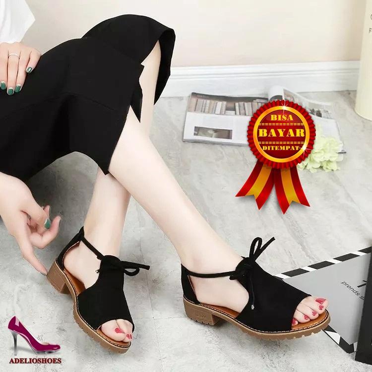 Adelioshoes - Flatshoes wanita Termurah / Flatshoes trendy / Flatshoes Tali ADL850