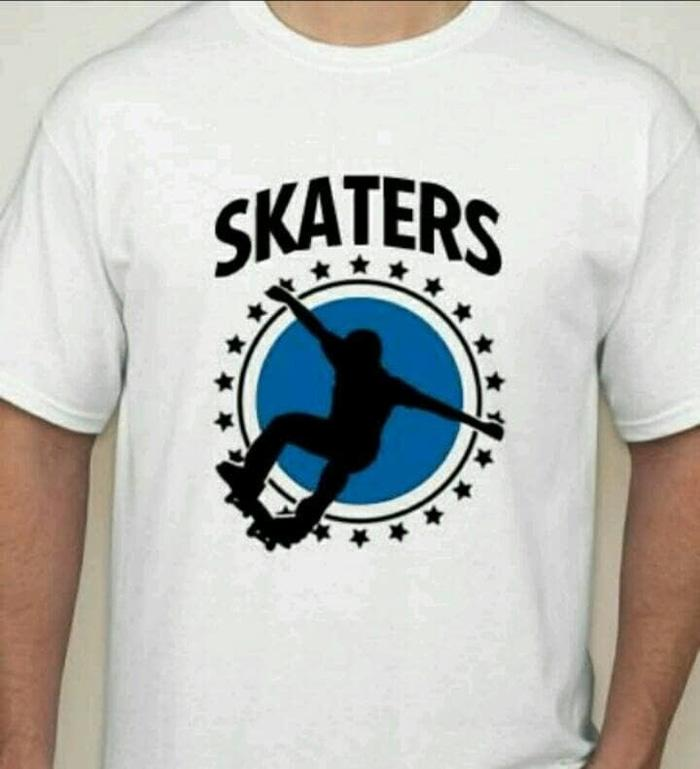 T-Shirt Kaos Skaters Cotton Combed 20S 30S Unisex Best Quality Product