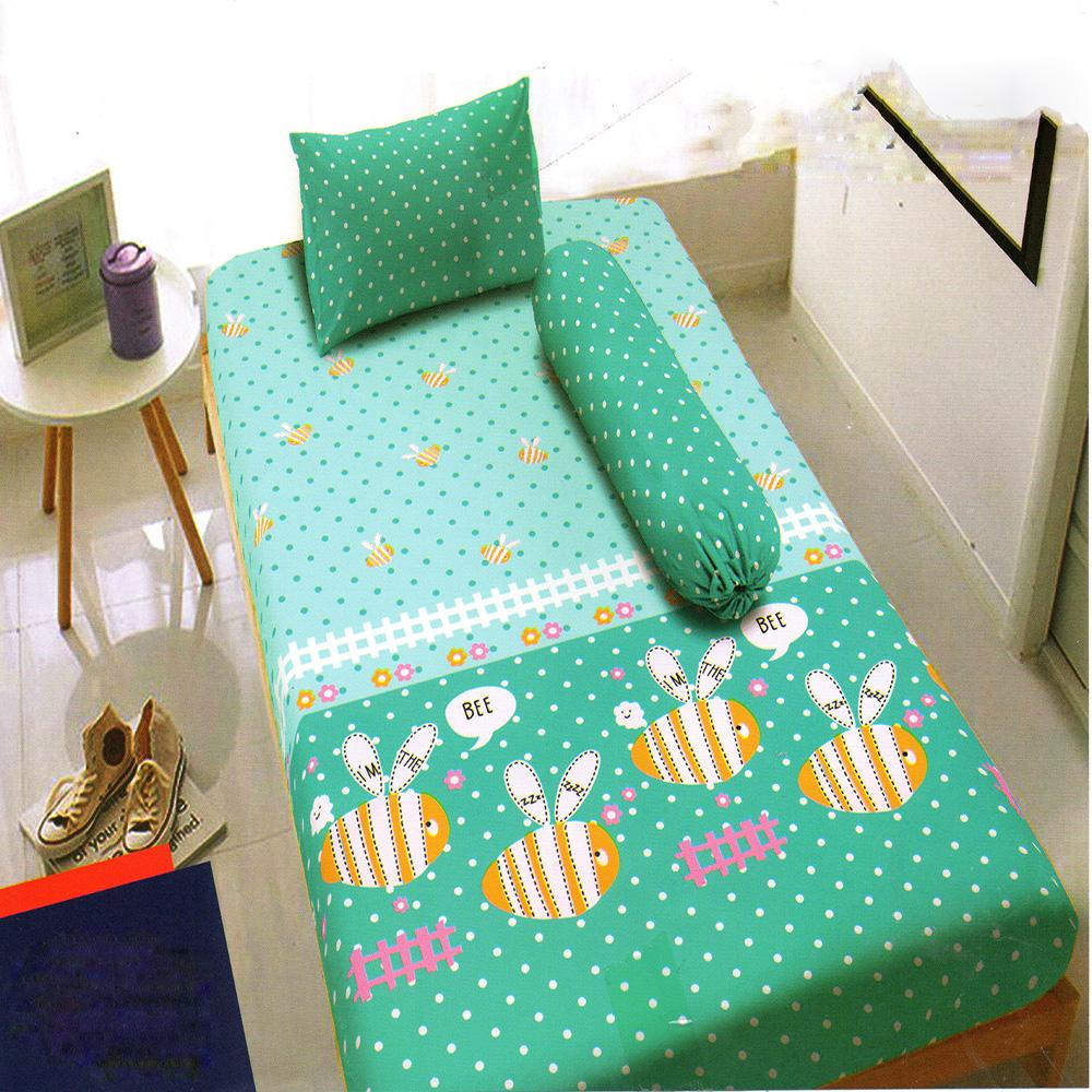Kintakun Dluxe Sprei Single Motif Summer Bee 120x200 cm