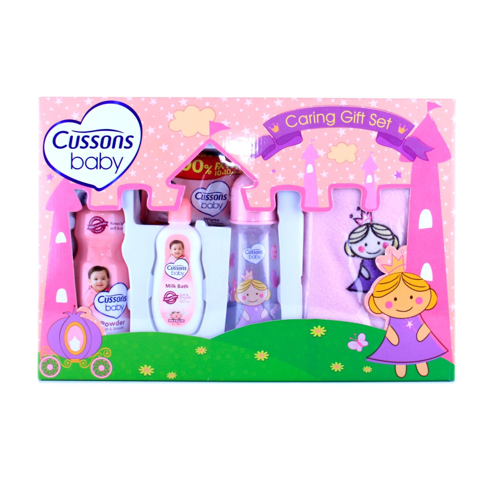 Diskon Cussons Baby Tissue Basah Naturally Refreshing Wipes Toko Cusson Tssue Botol Susu Caring Gift Set Girl Pink