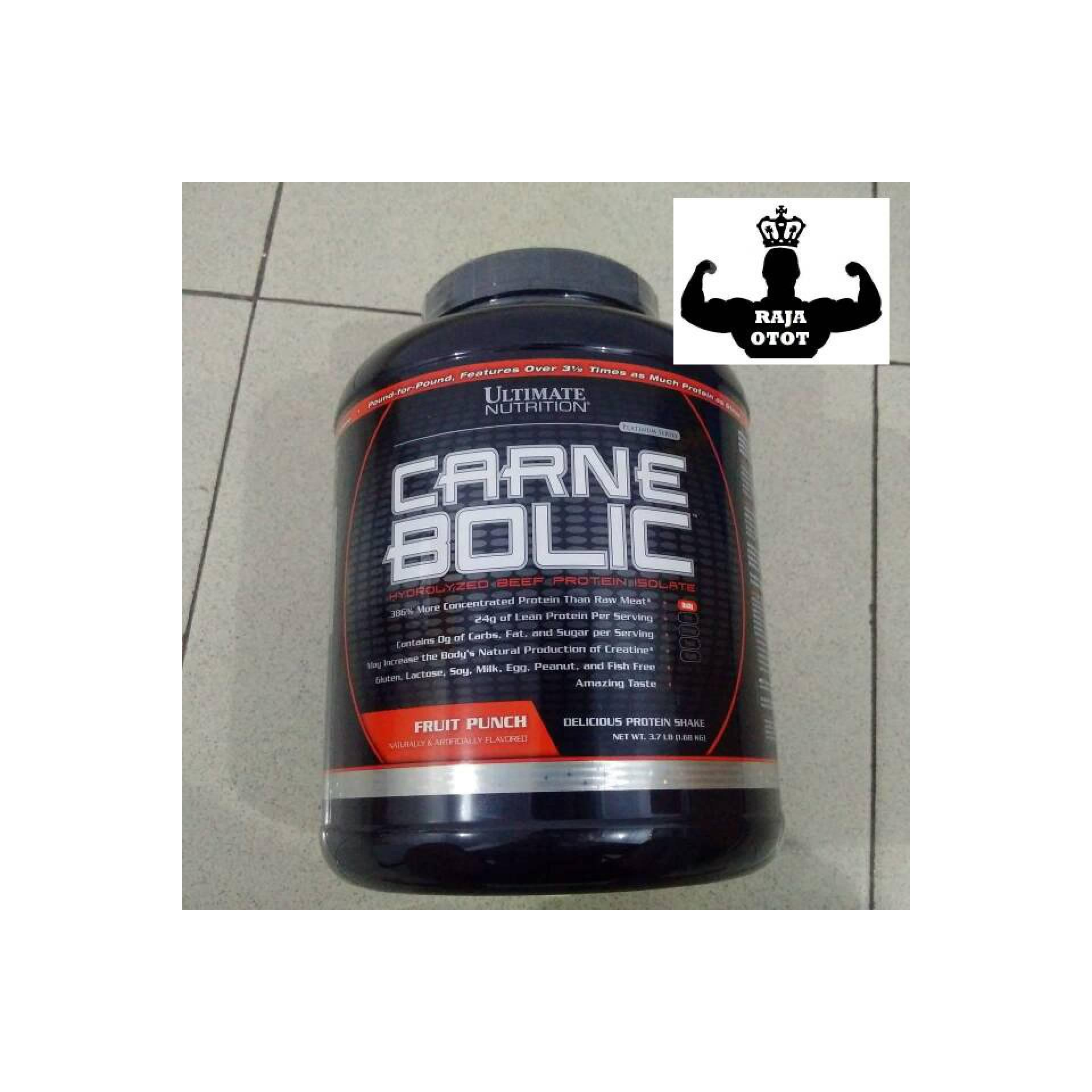 Carne Bolic 3.7 Lbs Ultimate Nutrition Beef Protein Isolate CarneBolic
