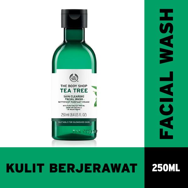 Toko The Body Shop Tea Tree Face Wash 250Ml Lengkap