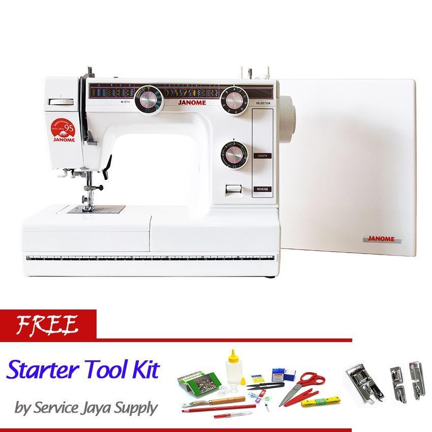 Janome 380 Mesin Jahit Portable Free Sjs Starter Kit Original